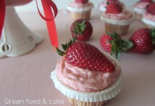 Mini cupcake alle fragole