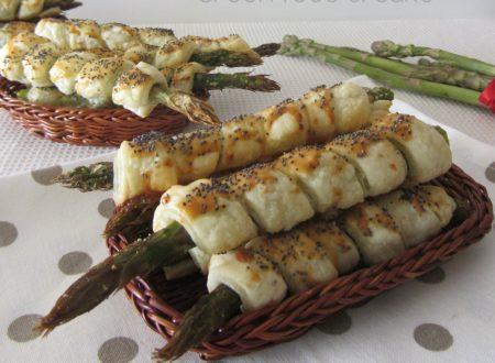 Asparagi in crosta di sfoglia