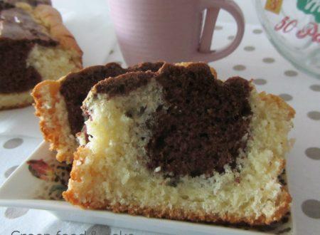 Plum cake bicolore