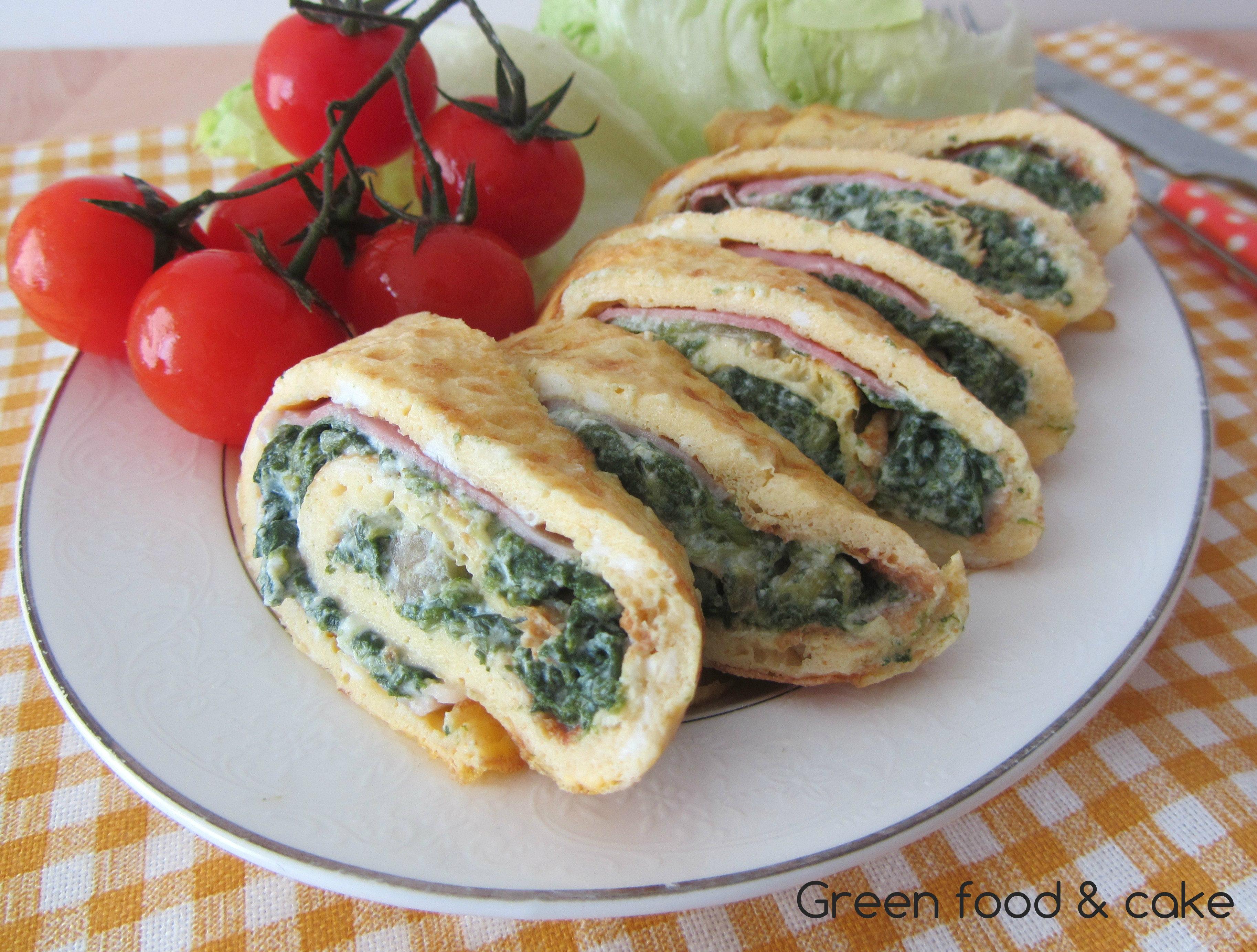 Ricetta Omelette Ricotta E Spinaci.Omelette Con Ricotta E Spinaci