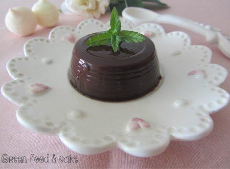 Budino di soia al cioccolato