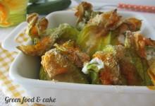 Fiori di zucchina al forno