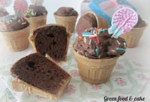 Muffin in cialda