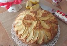 Torta soffice di mele con farina integrale