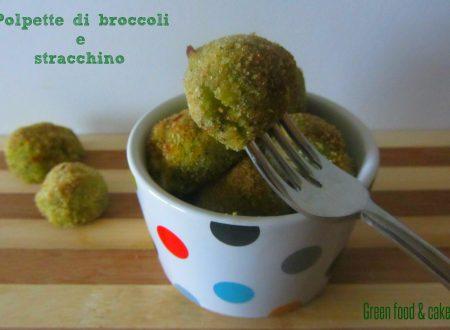 Polpette di broccoli e stracchino