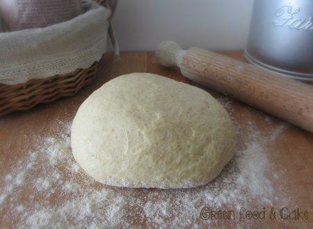Impasto per pizza con farina integrale