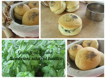 Bomboloni salati al basilico