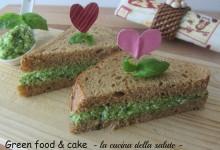 Sandwich con crema di zucchine