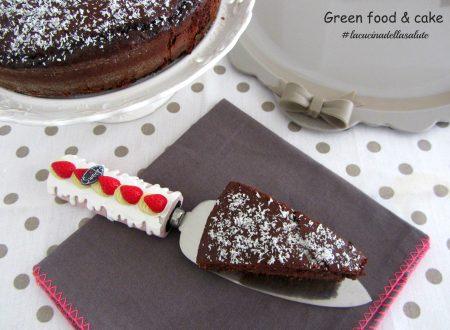 Torta cocco e cioccolato senza farina
