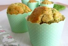 Muffin integrali con zucchine e robiola