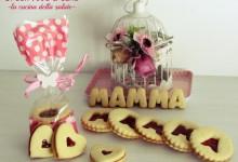 Biscotti per la festa della mamma