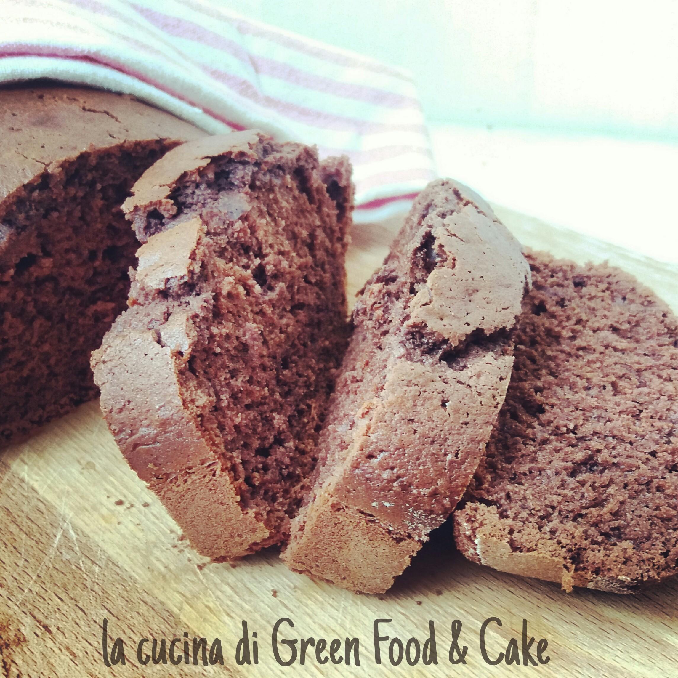 Plumcake al cioccolato con farina di riso
