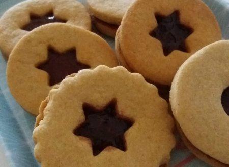 Biscotti di semola alla marmellata