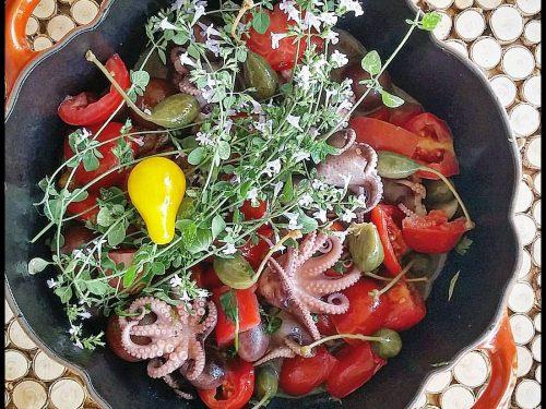 Moscardini alla Luciana ricetta tradizionale Italiana