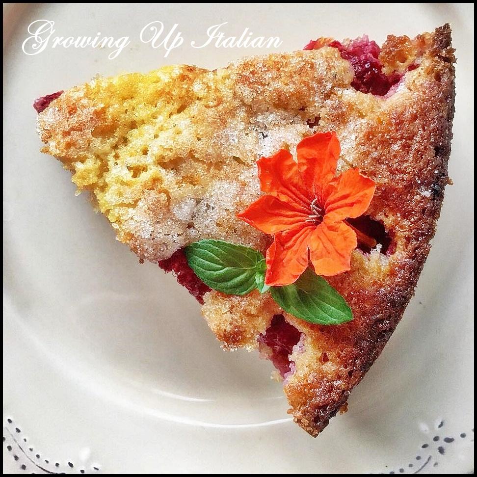 torta facile Lamponi e Marsala