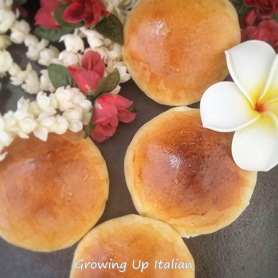 Ricetta Del Pane Hawaiano.Panini Dolci Hawaiiani Ottimi Con Il Salato