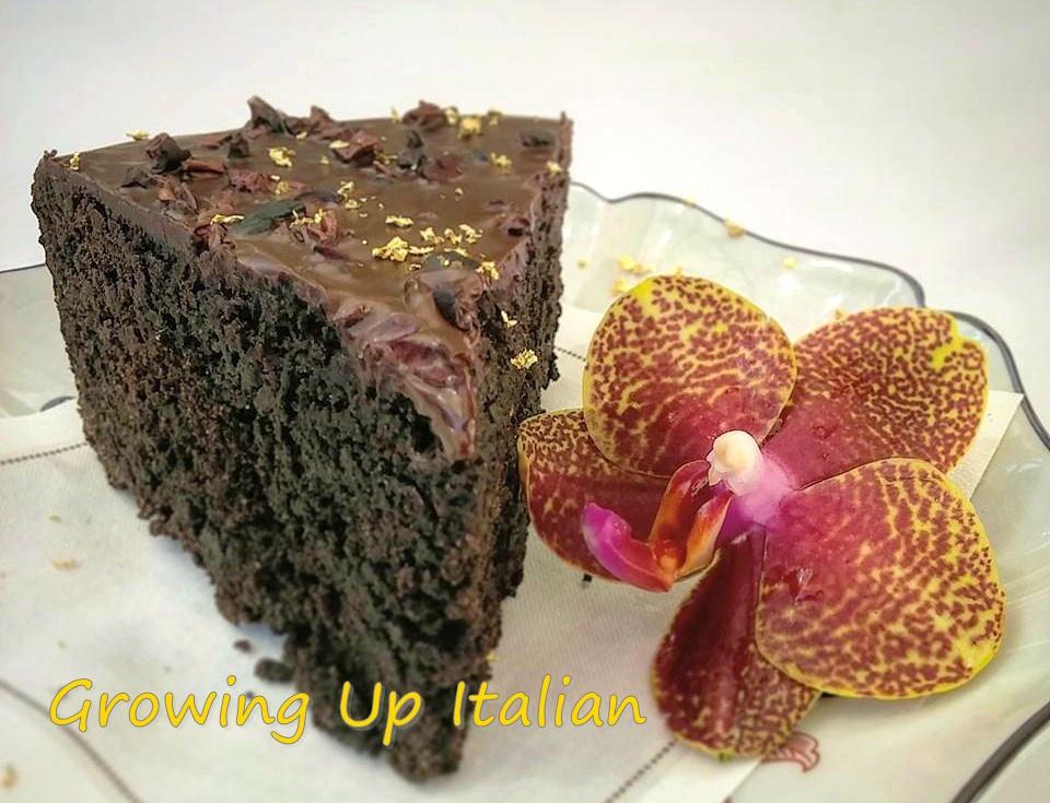 Torta alla marmellata di fichi, senza glutine, ma cioccolatosa!