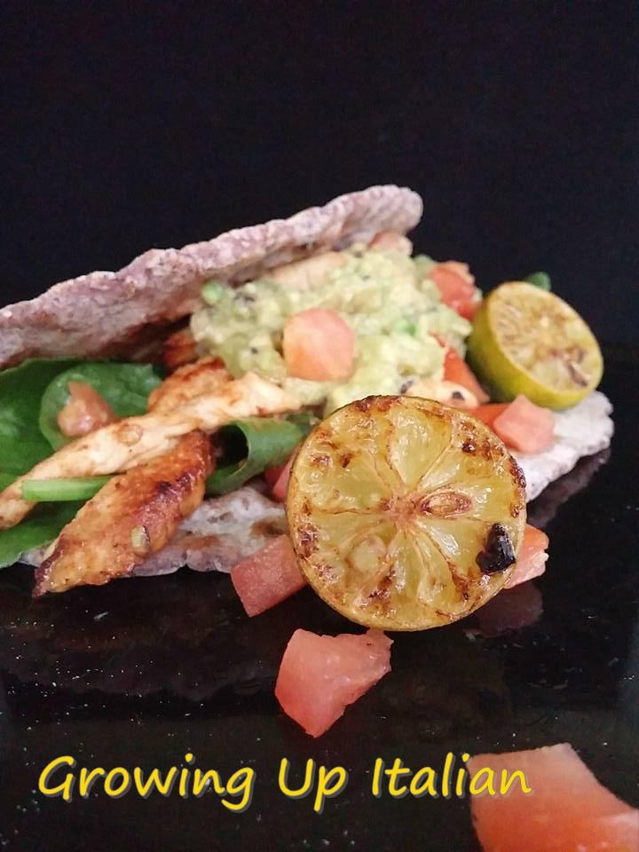 Tacos di Pollo Marinati al Kiwi