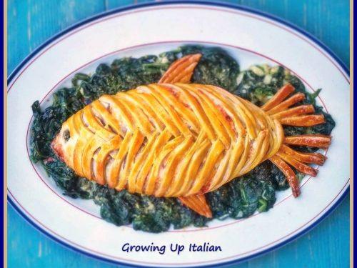 Pesce di Pasta Matta da riempire a piacere ~Tutorial