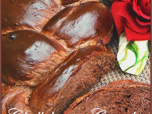 Challah: Il pane Brioche al cioccolato