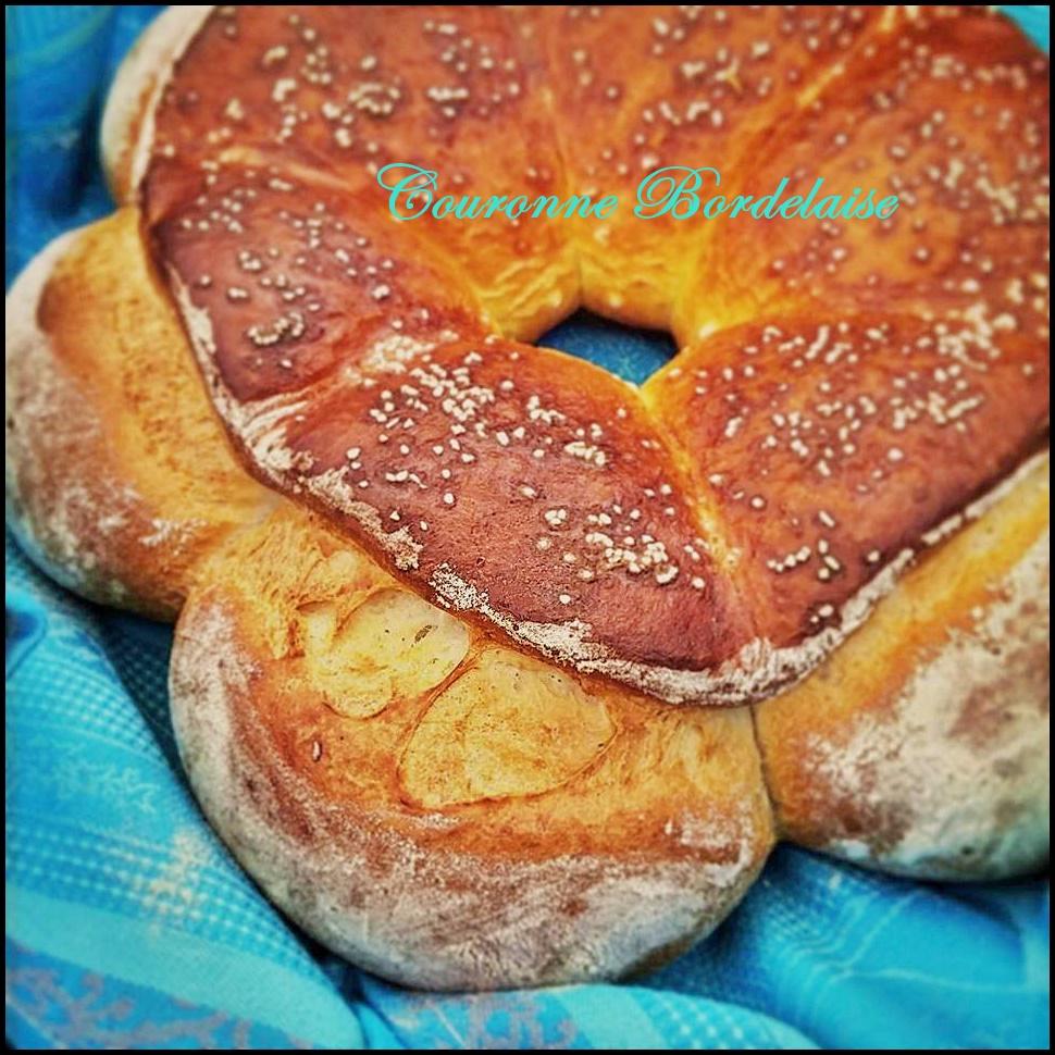 Corona Bordelesa, un pane da Centrotavola.