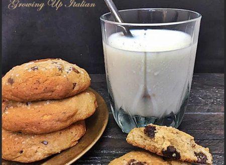 Biscotti Banana e Cioccolato, a lunga refrigerazione (36 ore)
