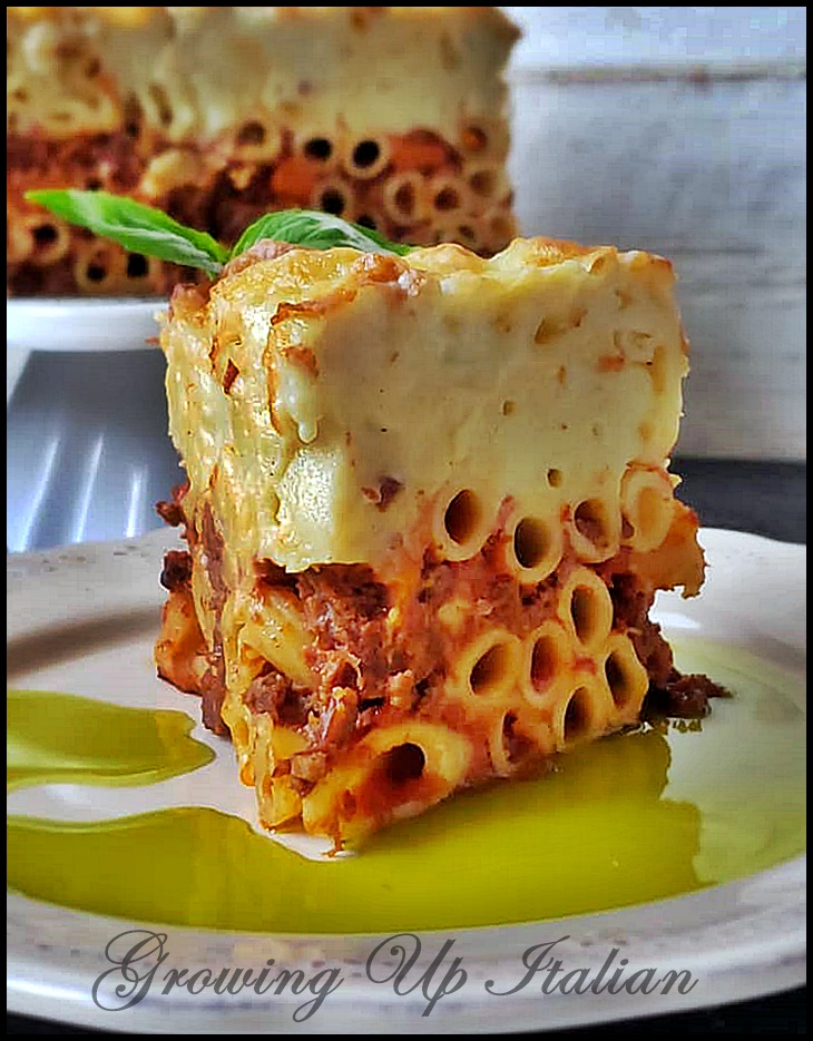 PASTITSIO greek lasagna