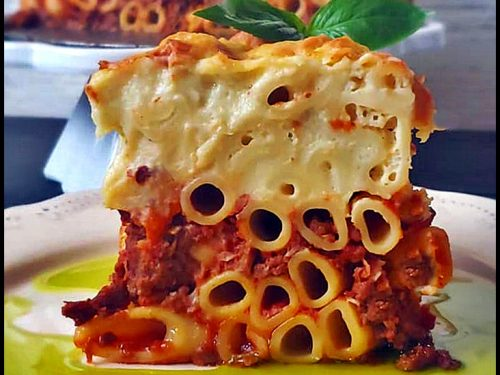 Pastitsio, The Greek Lasagna