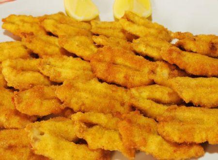 Acciughe impanate e fritte