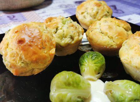 Muffin salati con cavoletti di Bruxelles