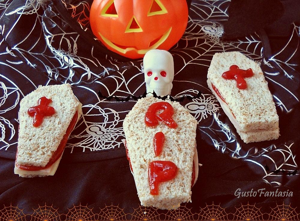 Sandwich halloween   GustoFantasia