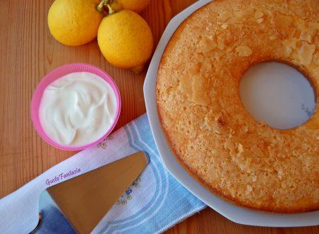 Ciambellone yogurt e limone senza uova