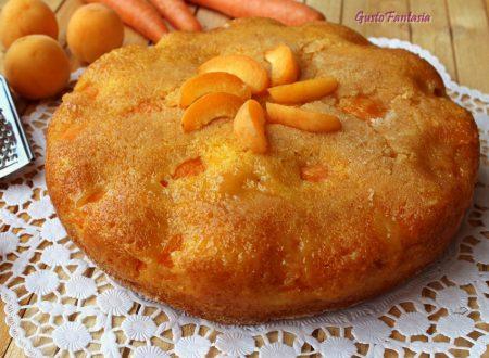 Torta rovesciata carote e albicocche