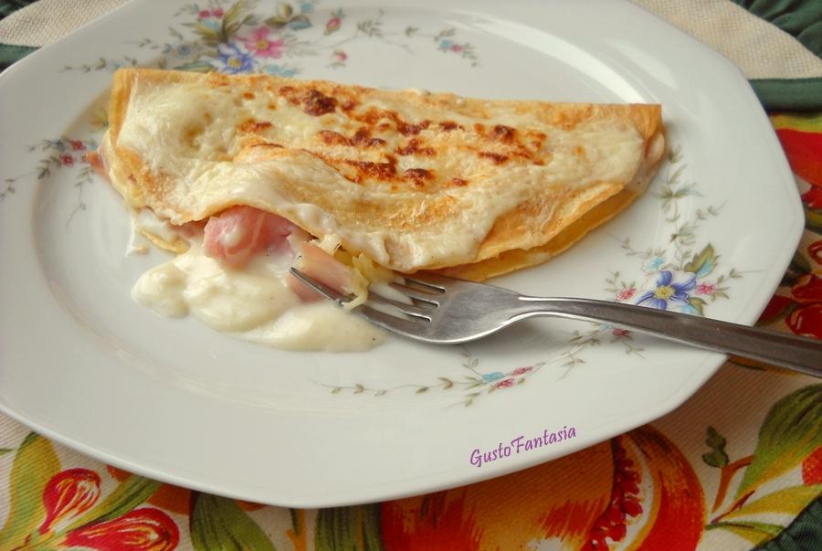 Ricette crepes con prosciutto e formaggio