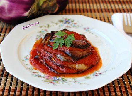 Melanzane in salsa agliata