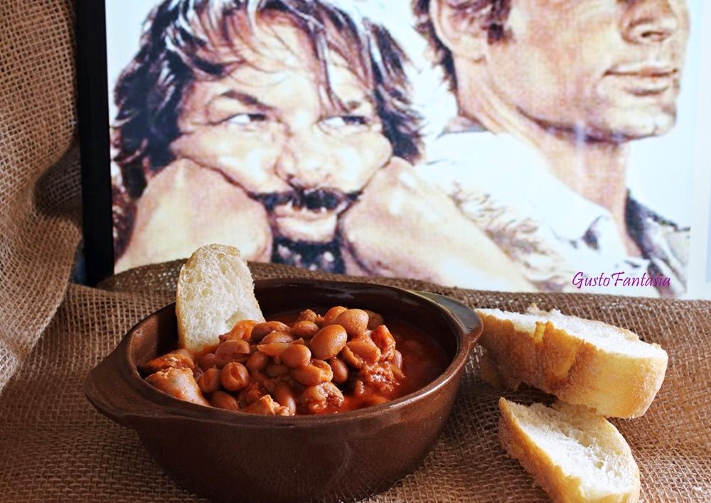 Fagioli e salsiccia di Trinità #ciakfood
