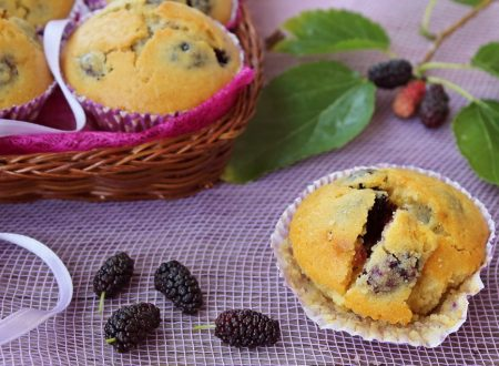 Muffin alle more di gelso