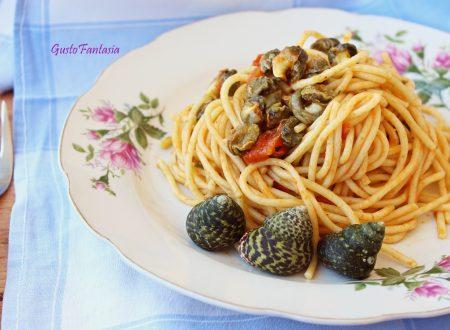 Spaghetti con lumache di mare