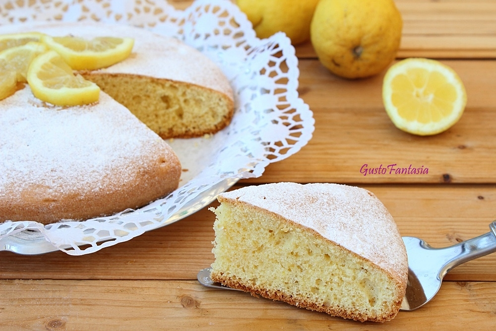 Torta al limone e panna