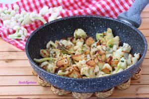 Patate e cavolfiore croccanti agli aromi