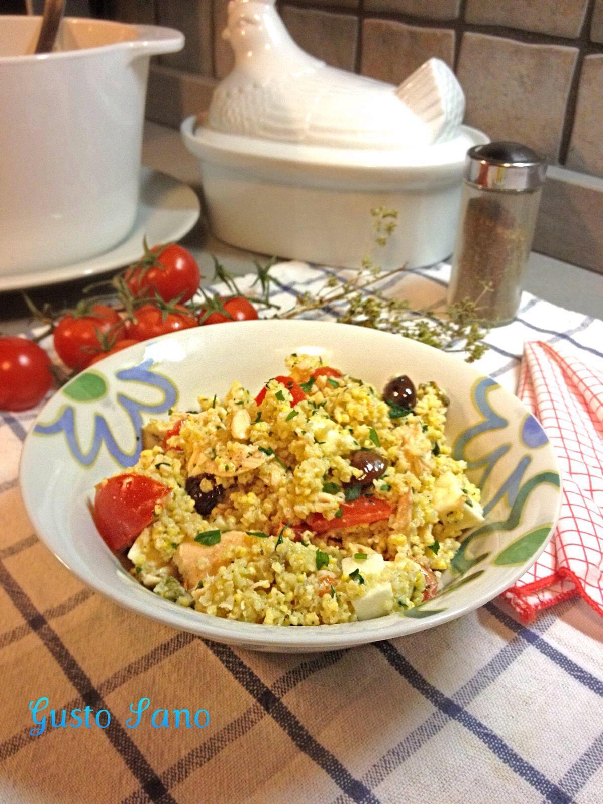 Ricetta flash insalata di miglio gusto sano for Cucinare miglio