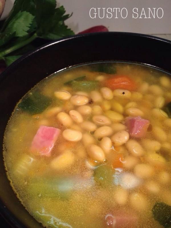 minestra di soia