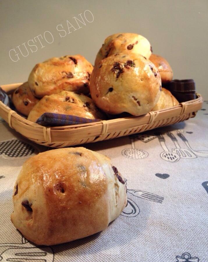 pane rustico al cioccolato