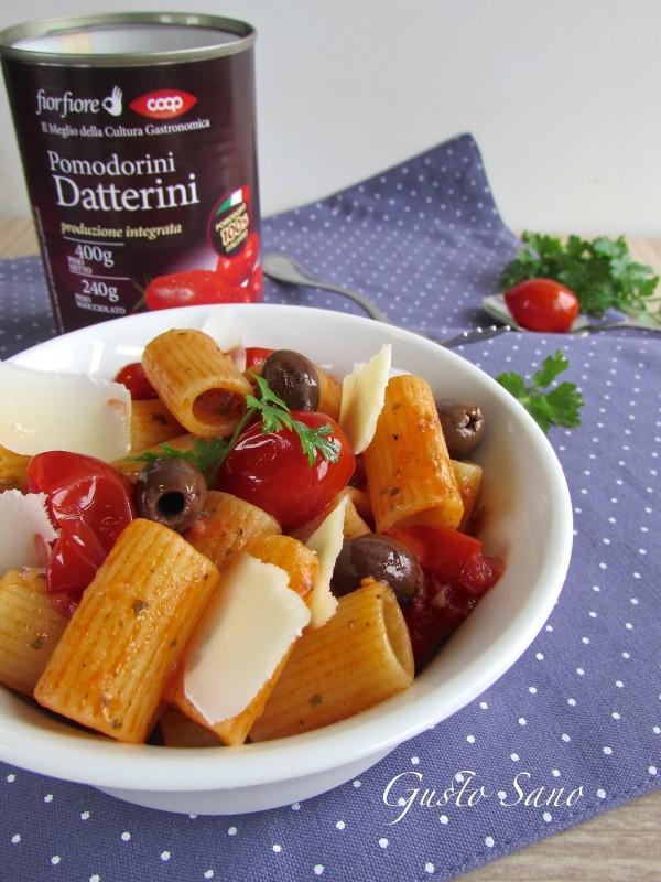 pasta pomodorini datterini coop