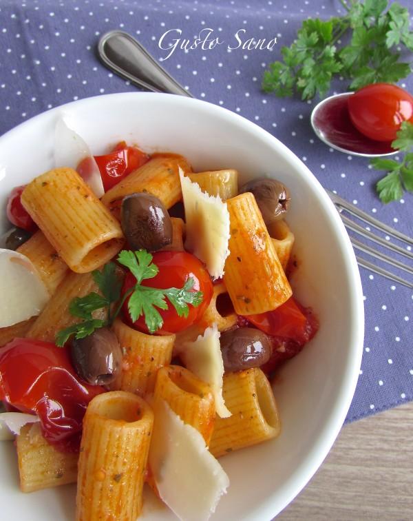 pasta con pomodorini datterini coop