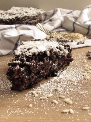 torta di riso al cacao