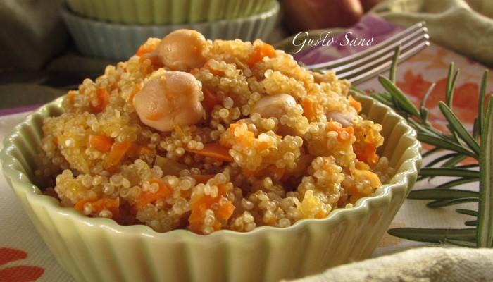 quinoa con ceci