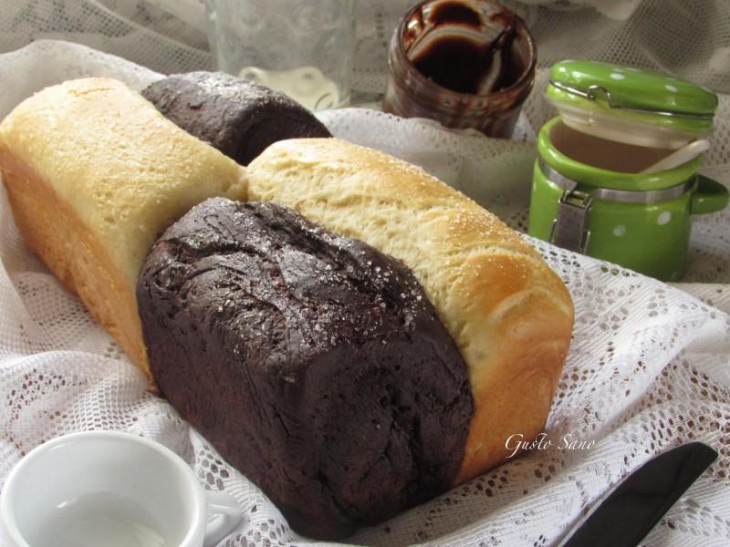 pan brioche bicolore