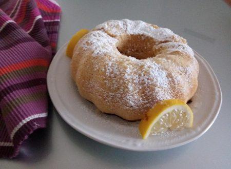 Ciambella limone con farina ai cereali