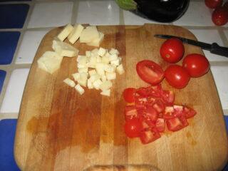 tagliare condimento